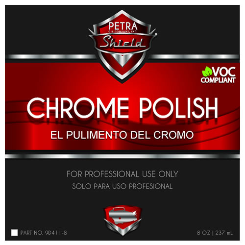 Chrome Metal Polish